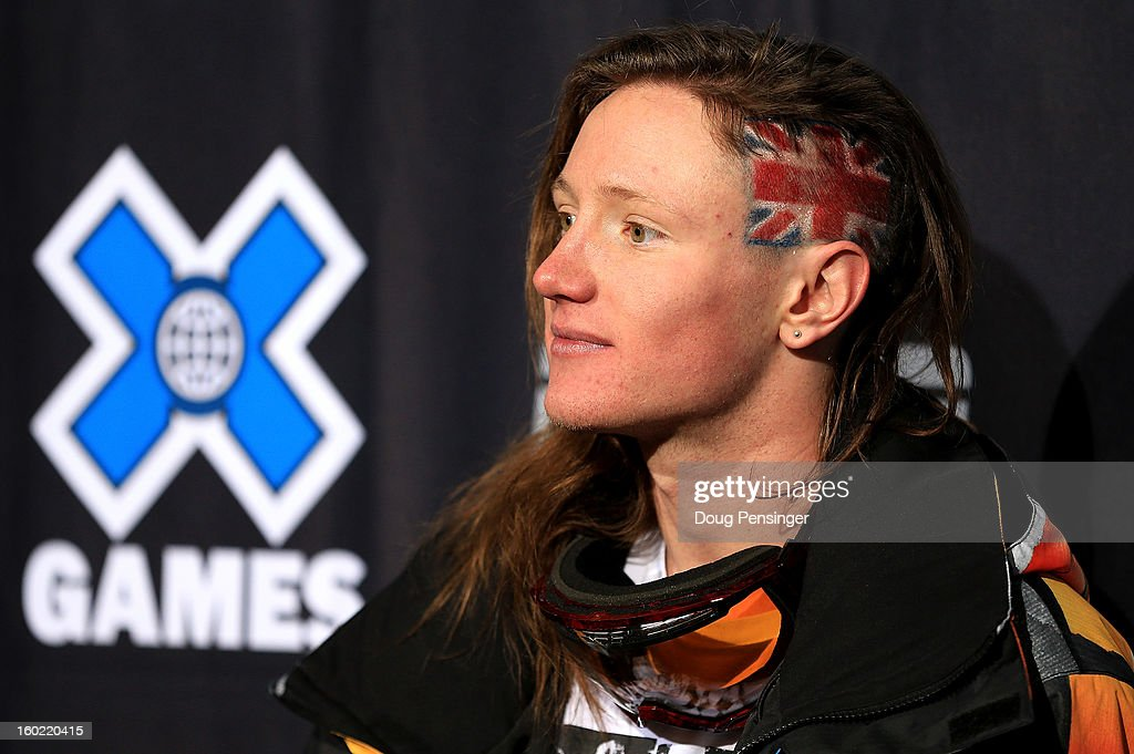 James Woods of Great Britain talks to the media after taking third place in the Men's Ski Slopestyle Final during Winter X Games Aspen 2013 at Buttermilk Mountain on January 27, 2013 in Aspen, Colorado.