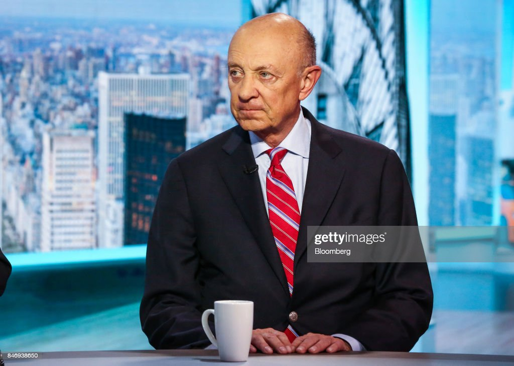 James Woolsey, former director of the Central Intelligence Agency (CIA), listens during a Bloomberg Television interview in New York, U.S., on Thursday, Sept. 14, 2017. Woolsey discussed the Trump Administration's strategy in dealing with threats from North Korea. Photographer: Christopher Goodney/Bloomberg via Getty Images