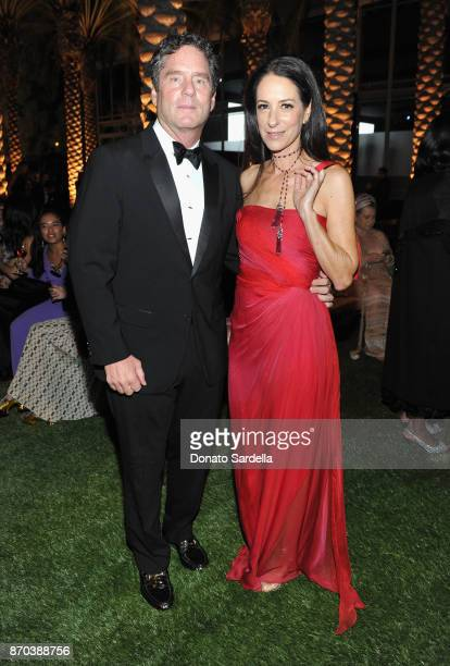 James Yaffe and Jane Ross attend the 2017 LACMA Art Film Gala Honoring Mark Bradford and George Lucas presented by Gucci at LACMA on November 4 2017...