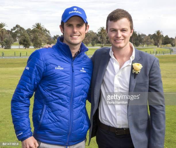 JamesCummings and Ben Hayes at Greenfields on September 01 2017 in Albert Park Australia