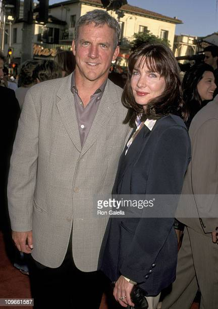 Jamey Sheridan and Colette Kilroy during Premiere of 'Wild America' at Mann Village Theatre in Westwood California United States