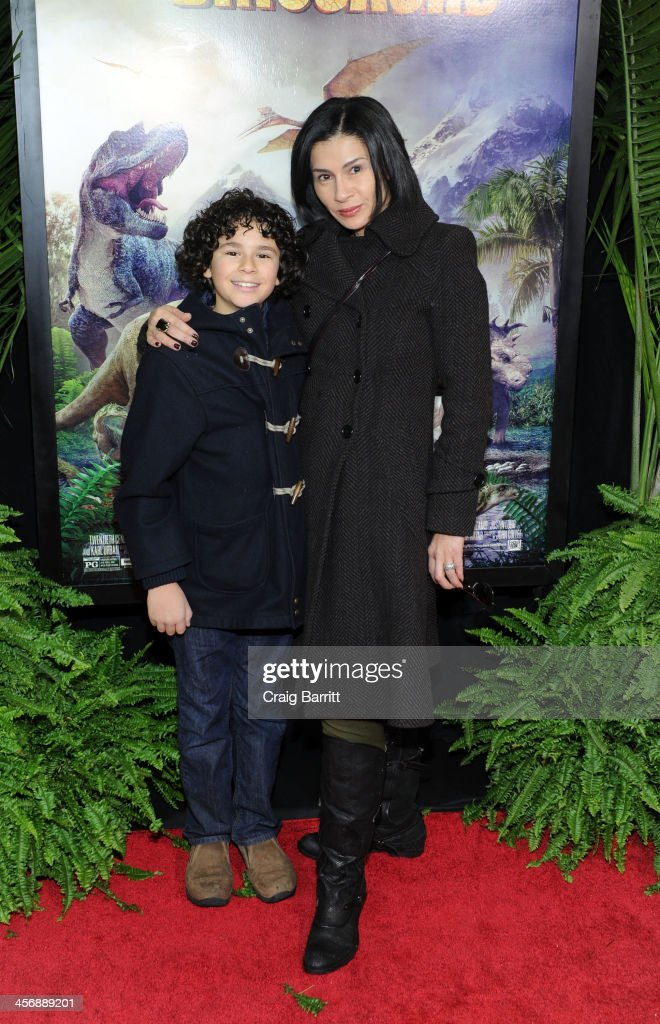 Jami Floyd attends the 'Walking With Dinosaurs' screening at Cinema 1, 2 & 3 on December 15, 2013 in New York City.