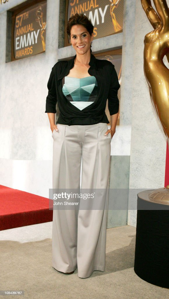Jami Gertz during 57th Annual Primetime Emmy Awards Nominations at Leonard H Goldenson Theatre in North Hollywood California United States