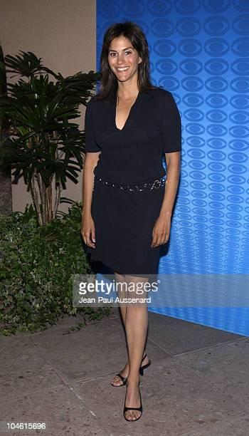 Jami Gertz during CBS Summer 2002 Press Tour Party at Ritz Carlton Hotel in Pasadena California United States