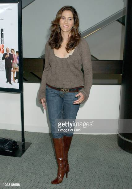 Jami Gertz during 'Keeping Up With The Steins' Los Angeles Premiere Arrivals at Pacific Design Center in West Hollywood California United States
