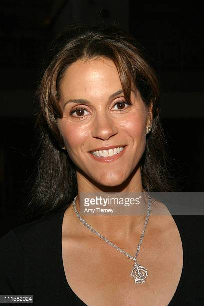 Jami Gertz during Lifetime Television's 'Fighting the Odds' Screening in Los Angeles California United States