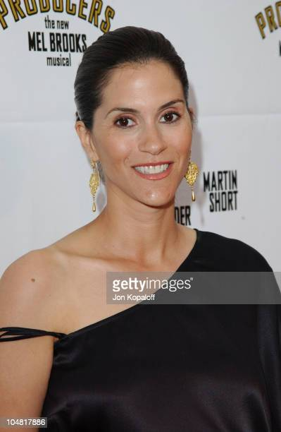 Jami Gertz during Opening Night of 'The Producers' at Pantages Theatre in Hollywood California United States