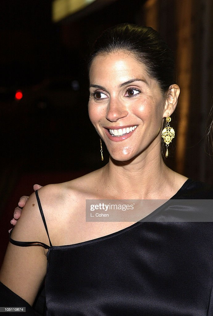 Jami Gertz during Opening Night of 'The Producers ' Curtain Call After Party at Pantages Theatre in Hollywood California United States