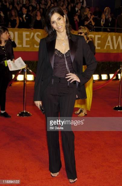 Jami Gertz during The 30th Annual People's Choice Awards Arrivals at Pasadena Civic Auditorium in Pasadena California United States