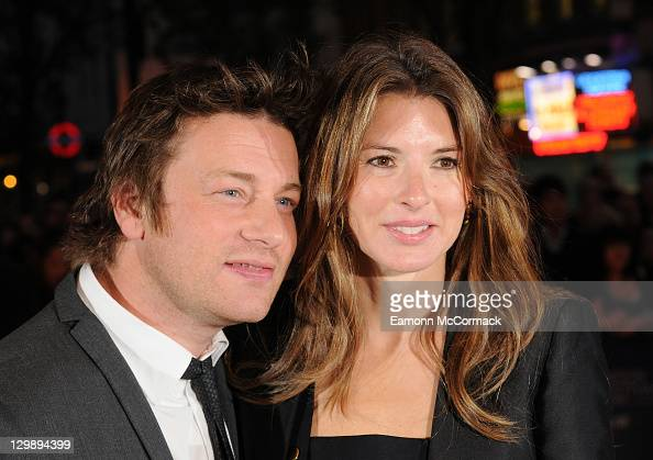 Jamie and Jools Oliver attend the screening of 'Wild Bill' at The 55th BFI London Film Festival at Vue West End on October 21 2011 in London England