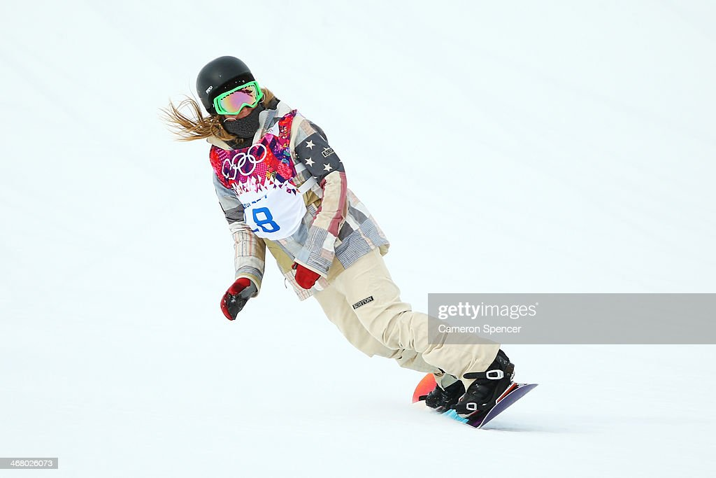 Anderson (IN) United States  city photos : Jamie Anderson of the United States competes in her Women's Snowboard ...