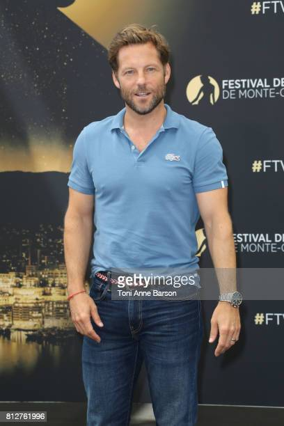 Jamie Bamber attends 'Fearless' photocall on June 19 2017 at the Grimaldi Forum in MonteCarlo Monaco