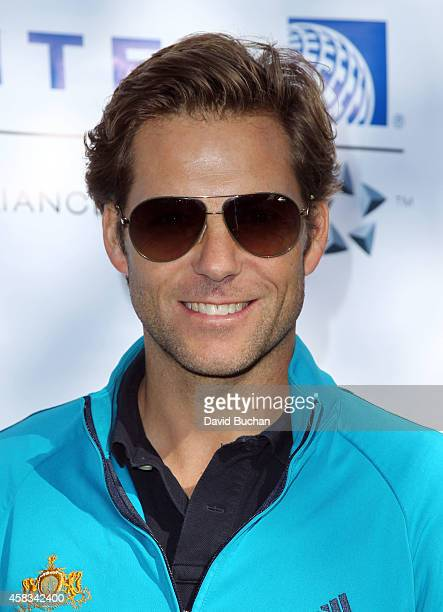 Jamie Bamber attends the BAFTA LA Celebrity Golf Classic at Oakmont Country Club on November 3 2014 in Glendale California