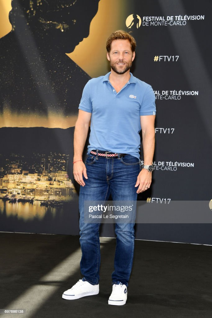 Jamie Bamber from 'Fearless' attends a photocall during the 57th Monte Carlo TV Festival : Day 4 on June 19, 2017 in Monte-Carlo, Monaco.