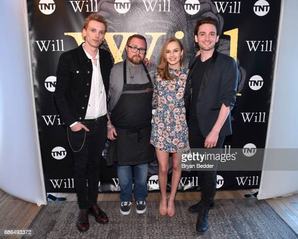 Jamie Beamish Chef Jamie Bissonnette Olivia DeJonge and Laurie Davidson attend TNT's Will Dinner By Toro's Chef Jamie Bissonette presented by TNT'S...