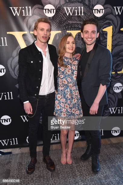 Jamie Beamish Olivia DeJonge and Laurie Davidson attend TNT's Will Dinner By Toro's Chef Jamie Bissonette presented by TNT'S Supper Club at West Edge...