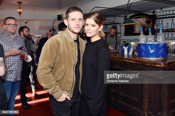 Jamie Bell and Kate Mara at the MY DAYS OF MERCY premiere party hosted by GREY GOOSE Vodka and Soho House on September 11 2017 in Toronto Canada