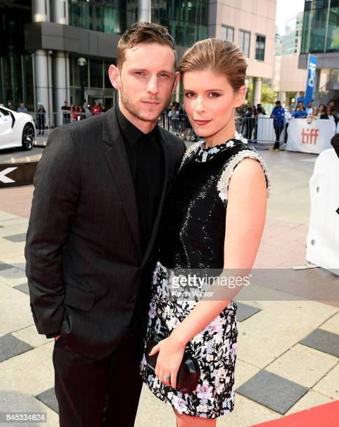Jamie Bell and Kate Mara attend the 'Chappaquiddick' premiere during the 2017 Toronto International Film Festival at Roy Thomson Hall on September 10...