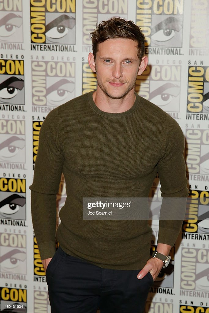 Jamie Bell attends the 20'th Century Fox Press Line at Comic-Con International 2015 Day 3 on July 11, 2015 in San Diego, California.