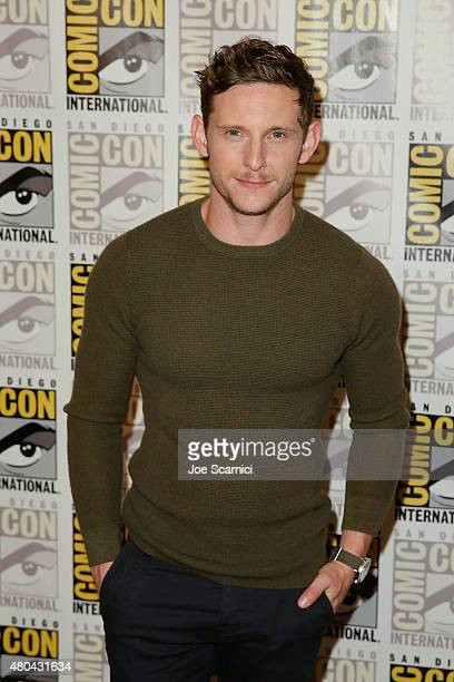 Jamie Bell attends the 20'th Century Fox Press Line at ComicCon International 2015 Day 3 on July 11 2015 in San Diego California