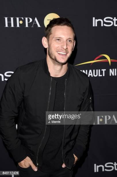 Jamie Bell attends the HFPA InStyle annual celebration of 2017 Toronto International Film Festival at Windsor Arms Hotel on September 9 2017 in...