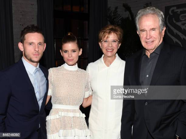 Jamie Bell Kate Mara Annette Bening and Warren Beatty attend the RBC hosted 'Film Stars Don't Die in Liverpool' cocktail party at RBC House Toronto...