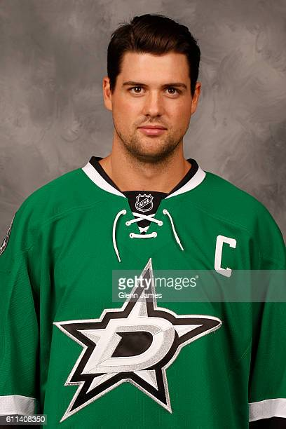 Jamie Benn of the Dallas Stars poses for his official headshot for the 20162017 season on September 22 2016 at the Dr Pepper Stars Center in Frisco...