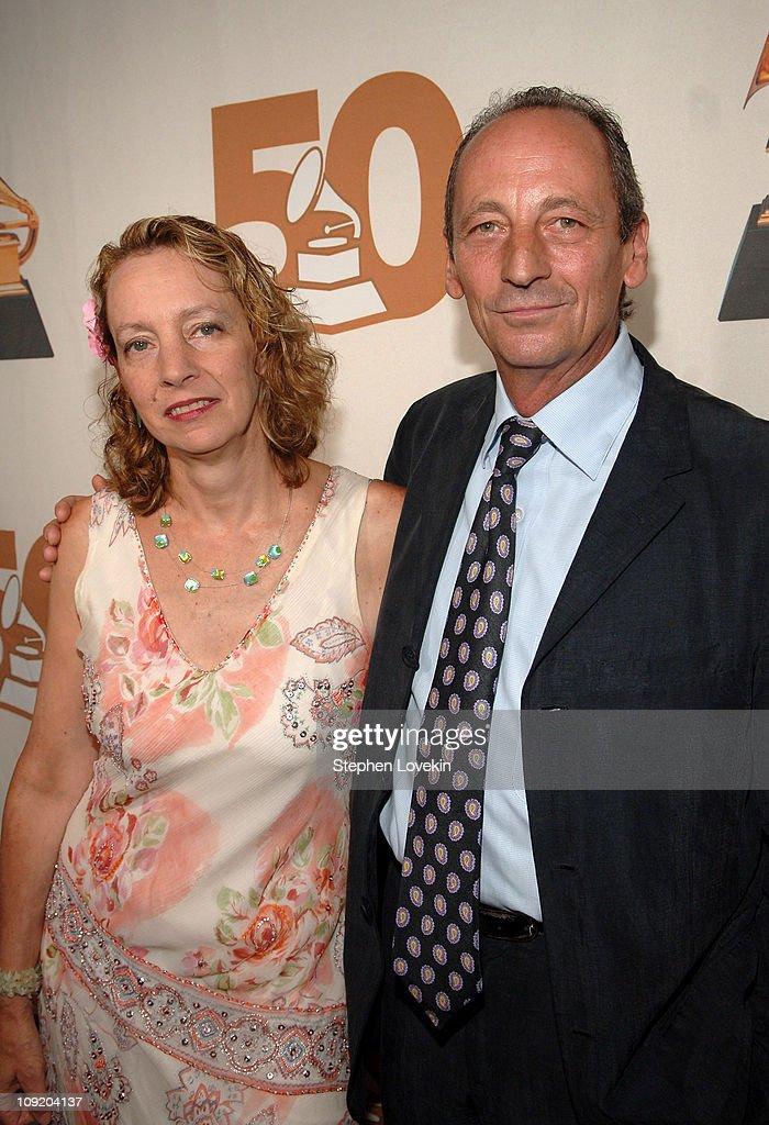 Jamie Bernstein Thomas and Alexander Bernstein attend the Recording Academy New York Chapter's Tribute to Bon Jovi Alicia Keys Donnie McClurkin and...