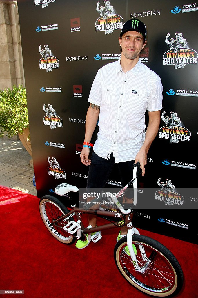 Jamie Bestwick attends the 9th annual Tony Hawk Stand Up For Skateparks Benefit held at Ron Burkle's Green Acres Estate on October 7, 2012 in Beverly Hills, California.