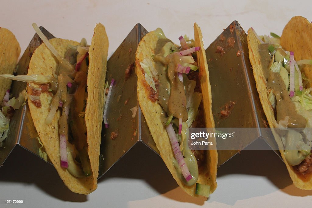 Jamie Bissonnette from Toro presents tacos at CASAMIGOS Tequila presents Tacos Tequila A Late Night Fiesta hosted by Bobby Flay during the Food...