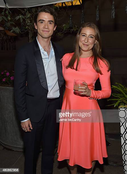 Jamie Blackley and Sophie Von Haselberg attend The Cinema Society With FIJI Water Metropolitan Capital Bank Host A Screening Of Sony Pictures...