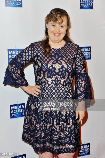 Jamie Brewer attends the Media Access Awards 2017 at The Four Seasons on November 17 2017 in Beverly Hills California