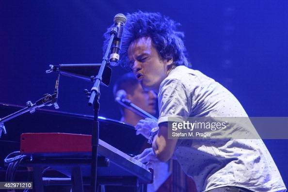 Jamie Callum perfoms at Tollwood Festival on July 27 2014 in Munich Germany
