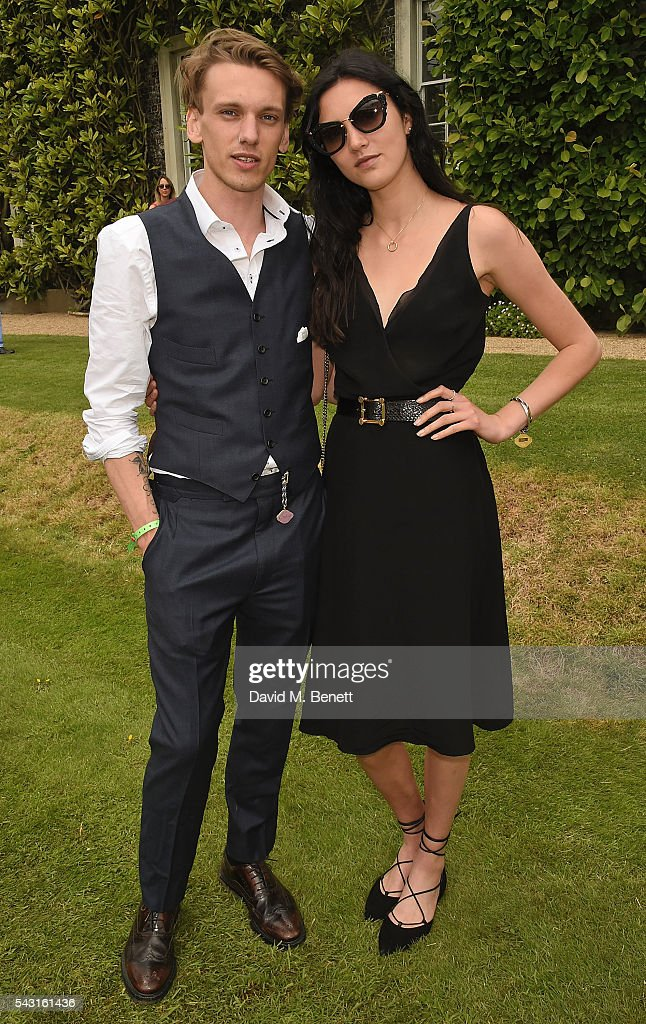 <a gi-track='captionPersonalityLinkClicked' href=/galleries/search?phrase=Jamie+Campbell+Bower&family=editorial&specificpeople=4586724 ng-click='$event.stopPropagation()'>Jamie Campbell Bower</a> and Matilda Lowther attend The Cartier Style et Luxe at the Goodwood Festival of Speed at Goodwood on June 26, 2016 in Chichester, England.