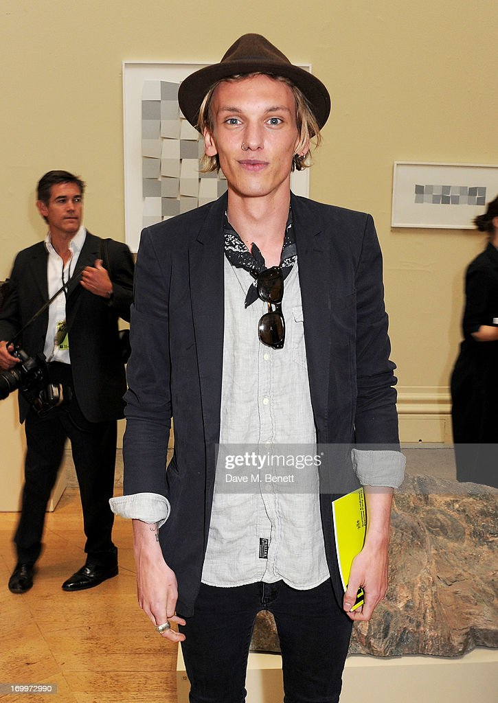 Jamie Campbell Bower attend the preview party for The Royal Academy Of Arts Summer Exhibition 2013 at Royal Academy of Arts on June 5, 2013 in London, England.