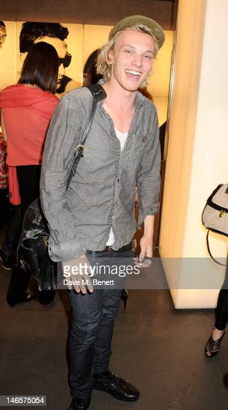 Jamie Campbell Bower attends as EA7 Emporio Armani Summer Garden Live presents Summer of Sport at Emporio Armani on June 19 2012 in London England