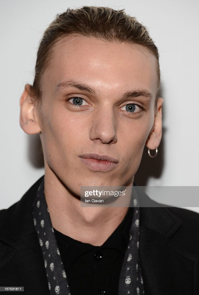 Jamie Campbell Bower attends the British Fashion Awards 2012 at The Savoy Hotel on November 27, 2012 in London, England.
