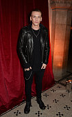 Jamie Campbell Bower attends the British Fashion Awards Nominees' Dinner hosted by Grey Goose at the Soho House PopUp on November 29 2014 in London...