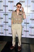 Fendi - Front Row - Milan Fashion Week Spring/Summer...