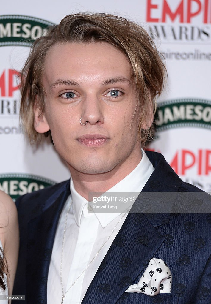 Jamie Campbell Bower attends the Jameson Empire Film Awards at Grosvenor House on March 30, 2014 in London, England.
