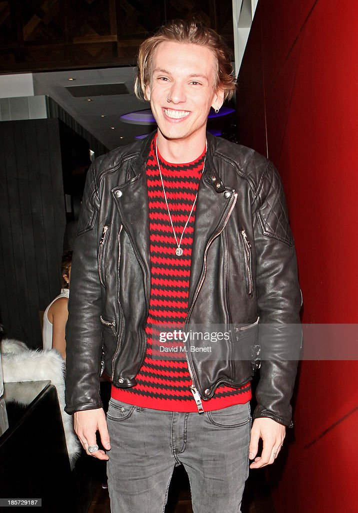 Jamie Campbell Bower attends the launch of the W Republic of Verbier takeover at W London - Leicester Square on October 24, 2013 in London, England.