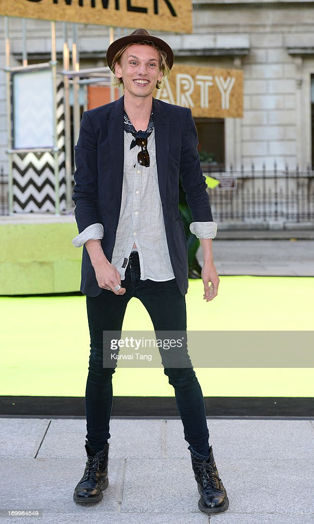 <a gi-track='captionPersonalityLinkClicked' href=/galleries/search?phrase=Jamie+Campbell+Bower&family=editorial&specificpeople=4586724 ng-click='$event.stopPropagation()'>Jamie Campbell Bower</a> attends the preview party for The Royal Academy Of Arts Summer Exhibition 2013 at Royal Academy of Arts on June 5, 2013 in London, England.