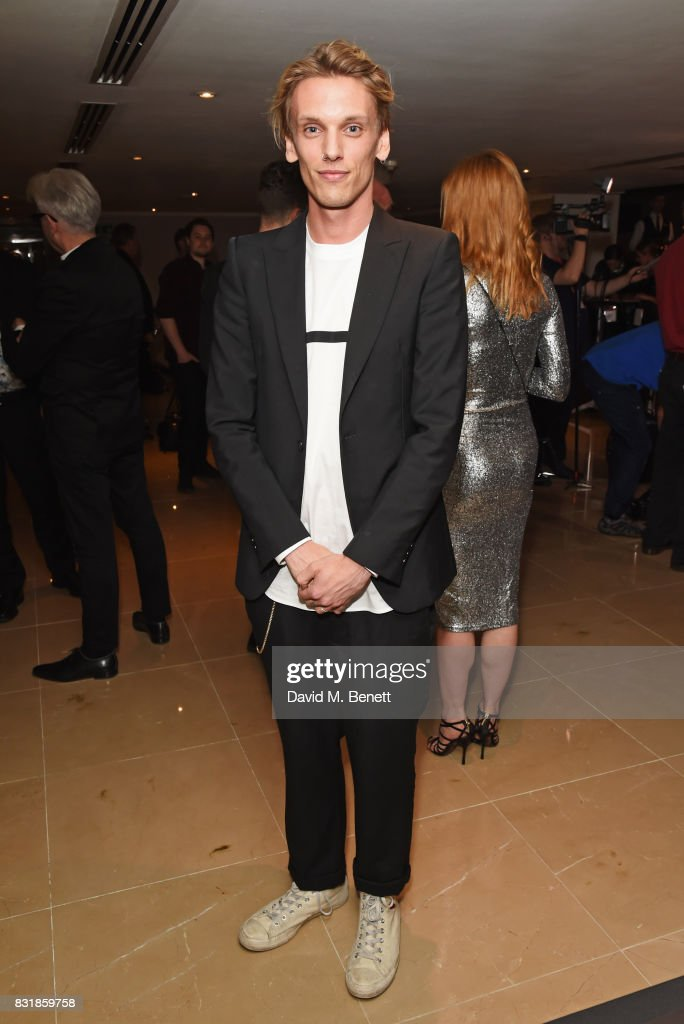 Jamie Campbell Bower attends the Raindance Film Festival anniversary drinks reception at The Mayfair Hotel on August 15, 2017 in London, England.