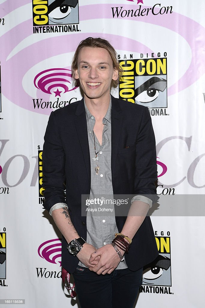 Jamie Campbell Bower attends WonderCon Anaheim 2013 - Day 2 at Anaheim Convention Center on March 30, 2013 in Anaheim, California.