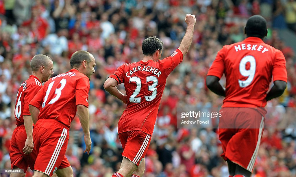 Jamie Carragher's Testimonial Match