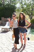 Jamie Chung and Ashley Greene attend Forever 21 BBQ on April 11 2015 in La Quinta California
