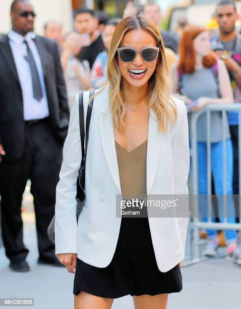 Jamie Chung at AOL Build studio on May 17 2017 in New York City