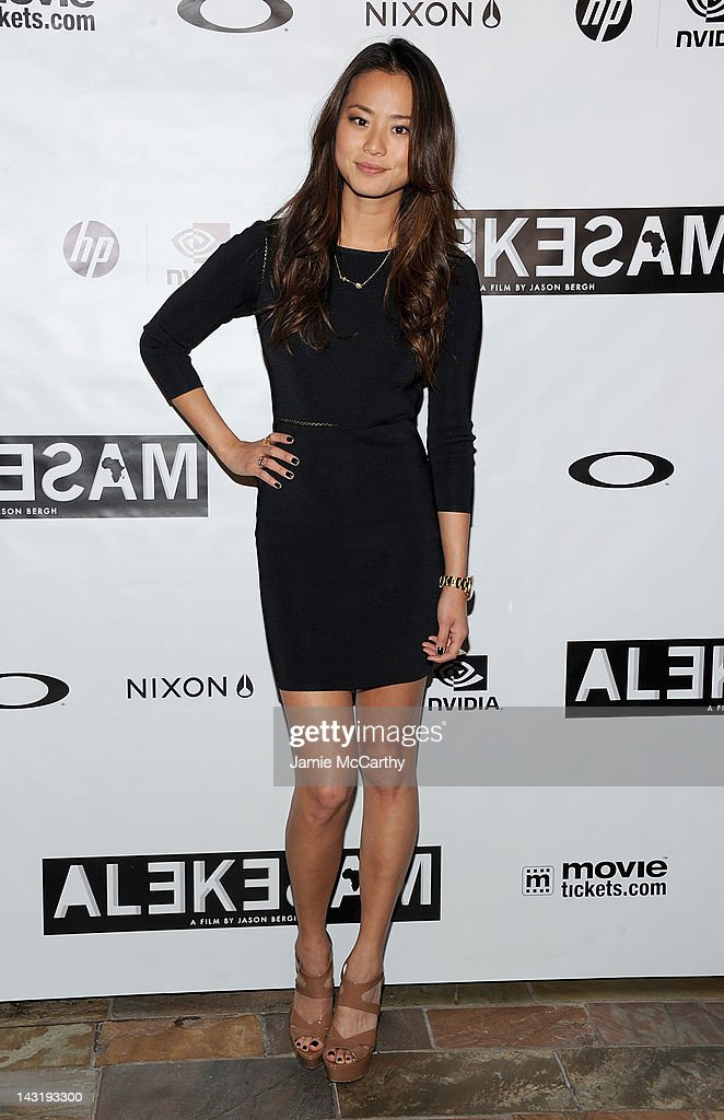 Jamie Chung attends After Party For Jason Bergh's New Film Alekesam at Tribeca Grand Hotel on April 20, 2012 in New York City.
