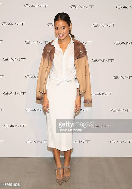 Jamie Chung attends House of Gant Presentation during Spring 2016 New York Fashion Week on September 10 2015 in New York City