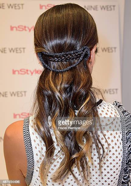 Jamie Chung attends Nine West InStyle Fall event hosted by Jamie Chung on September 9 2015 in New York City